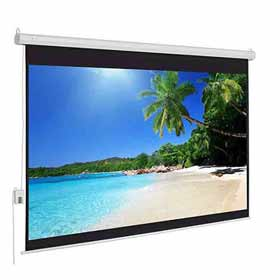 Wall Type Projector Screen Size: – 6 Ft. x 4 Ft.